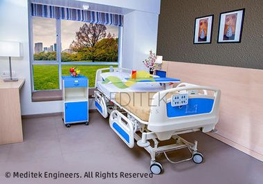 Care Biomedical Fully Motorized Bed 5 Function Bed